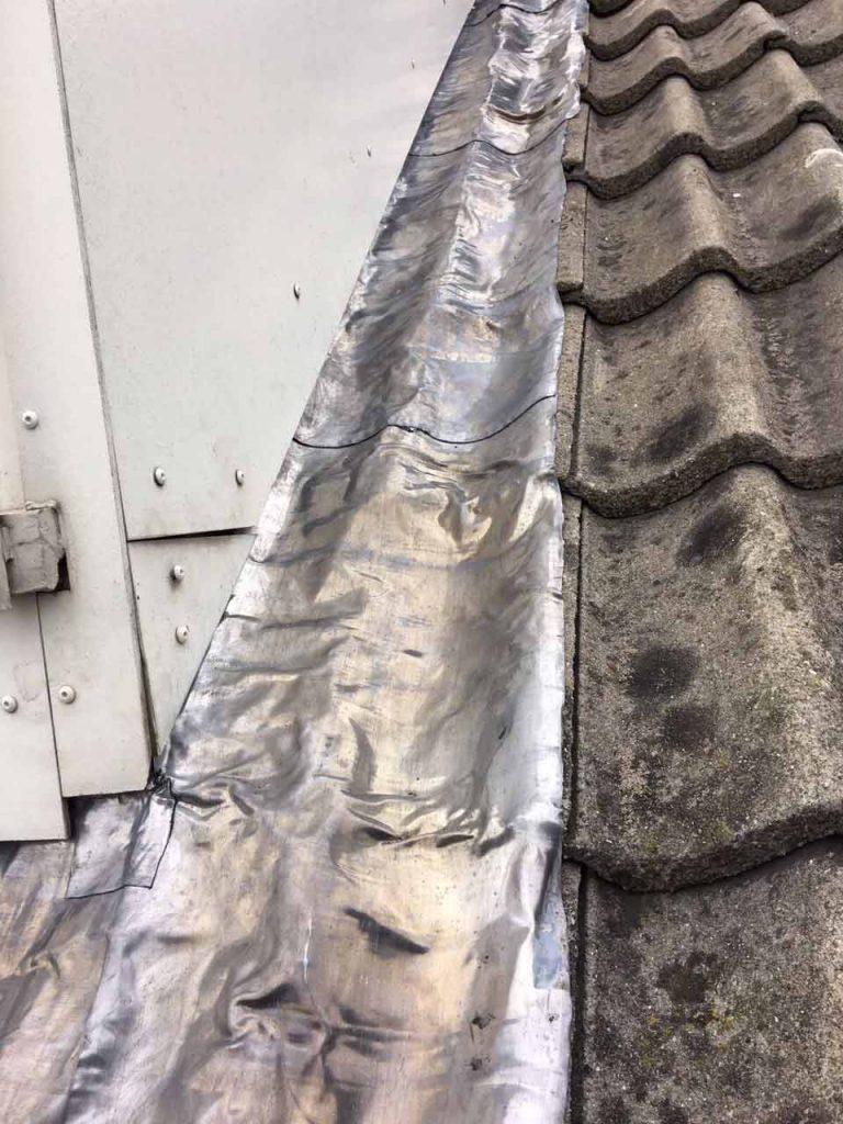 Geliefde Lood schoorsteen dakkapel door Dakbeheer Kieskeurig FX56